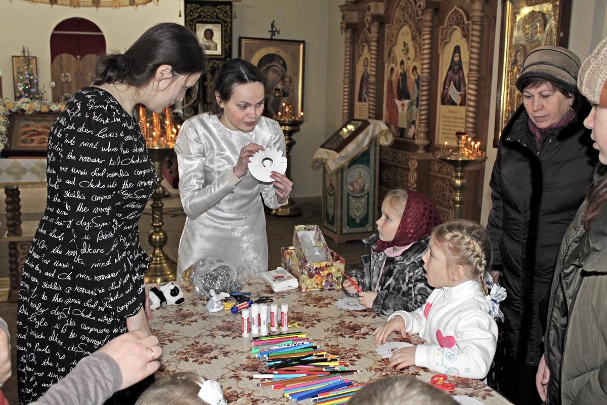 Рождество Христово на приходе Иоанно-Богословского храма города Коломны