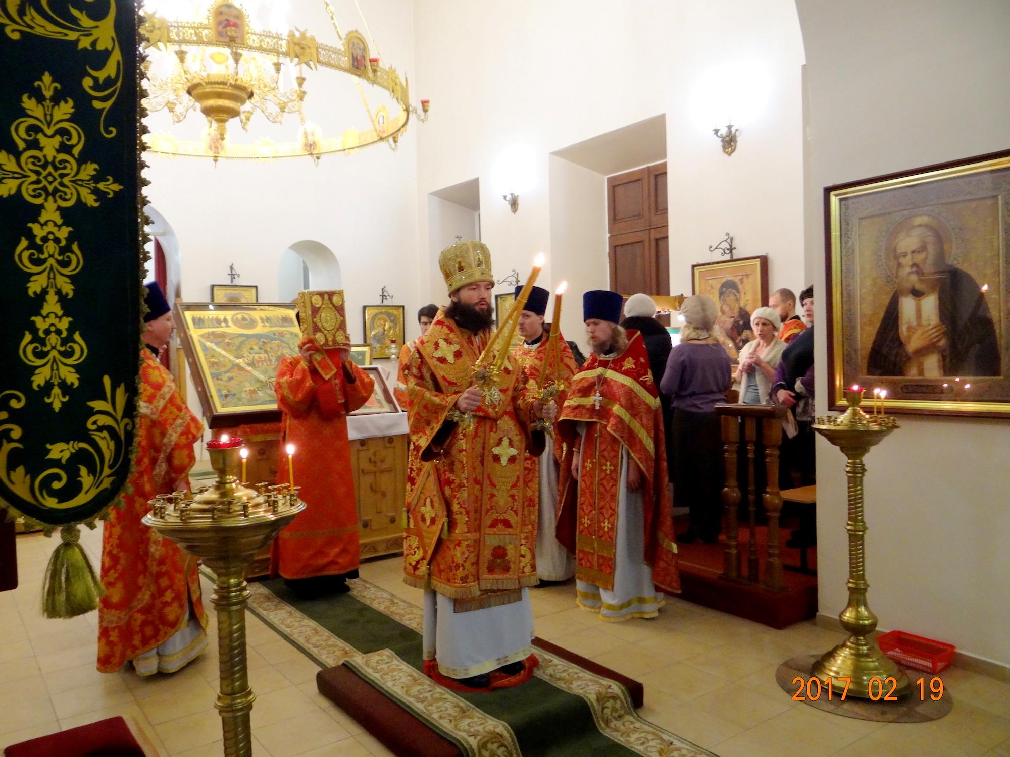 День памяти священномученика Алексия Троицкого в Иоанно-Богословском храме города Коломны