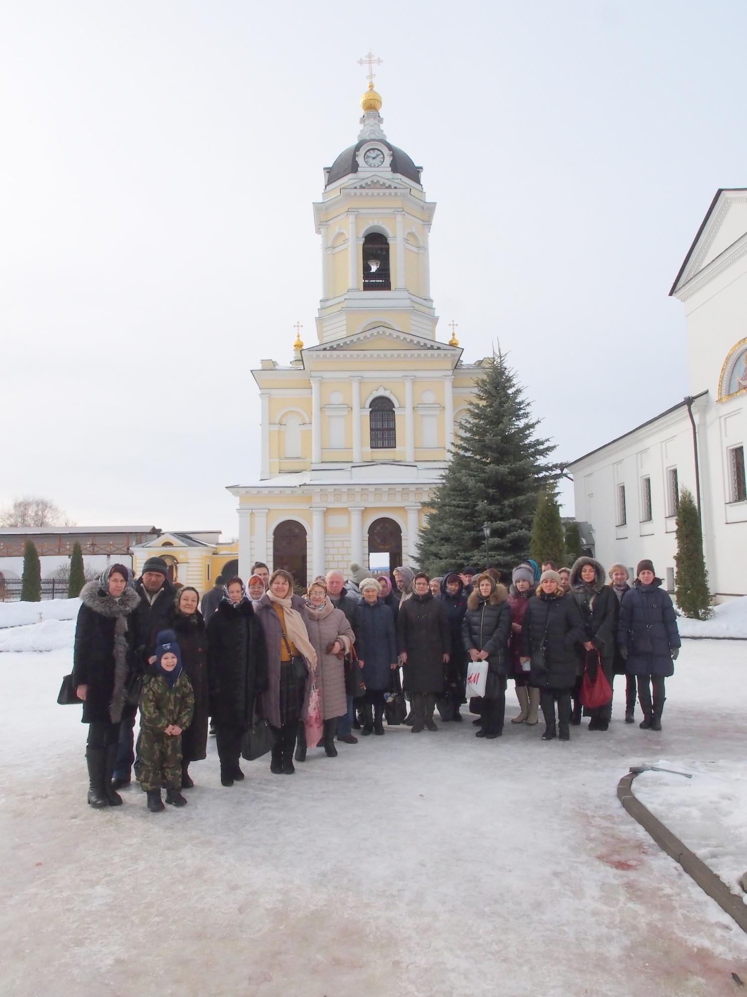 Паломническая поездка прихожан Иоанно-Богословского храма города Коломны
